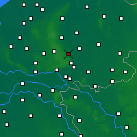 Nearby Forecast Locations - Eerbeek - Mapa