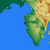 Nearby Forecast Locations - Novigrad - Mapa