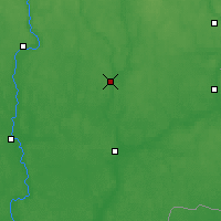 Nearby Forecast Locations - Chavusy - Mapa