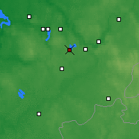 Nearby Forecast Locations - Trakai - Mapa