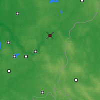 Nearby Forecast Locations - Nemenčinė - Mapa