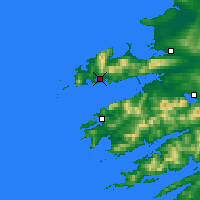 Nearby Forecast Locations - Dingle - Mapa
