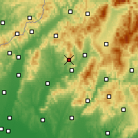 Nearby Forecast Locations - Cihoc - Mapa