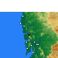 Nearby Forecast Locations - Shirsad - Mapa