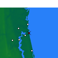 Nearby Forecast Locations - Naval Station Mayport - Mapa