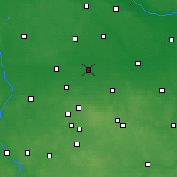 Nearby Forecast Locations - Piątek - Mapa
