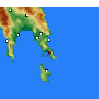 Nearby Forecast Locations - Neapoli - Mapa