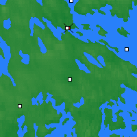 Nearby Forecast Locations - Varkaus - Mapa