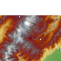 Nearby Forecast Locations - San Agustín - Mapa