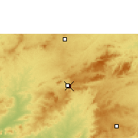 Nearby Forecast Locations - Arcoverde - Mapa