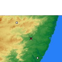 Nearby Forecast Locations - Palmares - Mapa