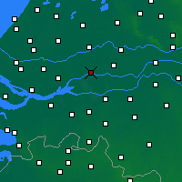 Nearby Forecast Locations - Gorinchem - Mapa