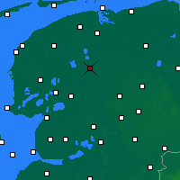 Nearby Forecast Locations - Drachten - Mapa