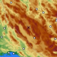 Nearby Forecast Locations - Glamoč - Mapa