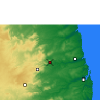 Nearby Forecast Locations - Guarabira - Mapa