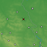 Nearby Forecast Locations - Stanisławów - Mapa