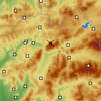Nearby Forecast Locations - Terchová - Mapa