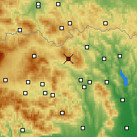 Nearby Forecast Locations - Malpensa Airport - map