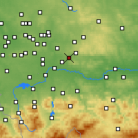Nearby Forecast Locations - Chrzanów - Mapa