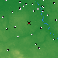 Nearby Forecast Locations - Grójec - Mapa
