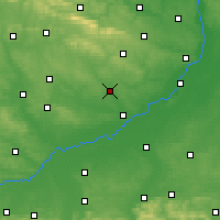 Nearby Forecast Locations - Staszów - Mapa