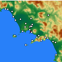 Nearby Forecast Locations - Portici - Mapa