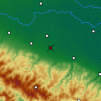 Nearby Forecast Locations - Modena - Mapa