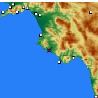Nearby Forecast Locations - Casal Velino - Mapa
