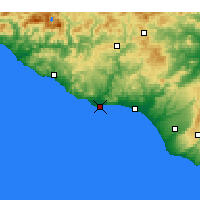 Nearby Forecast Locations - Licata - Mapa