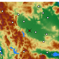 Nearby Forecast Locations - Karditsa - Mapa