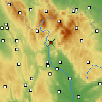 Nearby Forecast Locations - Šumperk - Mapa