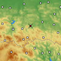 Nearby Forecast Locations - Gorlice - Mapa