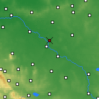 Nearby Forecast Locations - Jelcz-Laskowice - Mapa