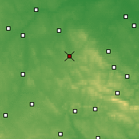 Nearby Forecast Locations - Końskie - Mapa