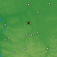 Nearby Forecast Locations - Lubartów - Mapa