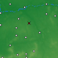 Nearby Forecast Locations - Pleszew - Mapa