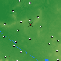 Nearby Forecast Locations - Syców - Mapa