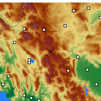 Nearby Forecast Locations - Metsovo - Mapa