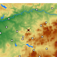 Nearby Forecast Locations - Baena - Mapa