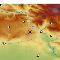 Nearby Forecast Locations - İdil - Mapa