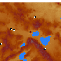 Nearby Forecast Locations - Bolvadin - Mapa