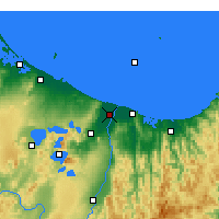Nearby Forecast Locations - Edgecumbe - Mapa