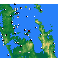 Nearby Forecast Locations - Gannet Rock - Mapa