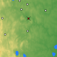 Nearby Forecast Locations - Aramil - Mapa