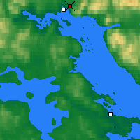 Nearby Forecast Locations - Kandalakša - Mapa