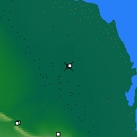 Nearby Forecast Locations - Kizljar - Mapa