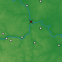 Nearby Forecast Locations - Kolomna - Mapa