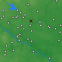 Nearby Forecast Locations - Losino-Petrovsky - Mapa
