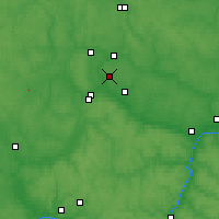 Nearby Forecast Locations - Obninsk - Mapa