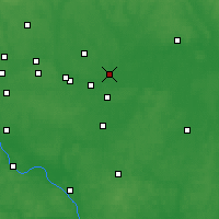 Nearby Forecast Locations - Orechovo-Zujevo - Mapa
